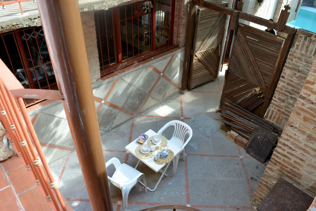Patio del departamento