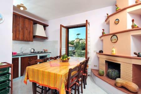 CASA HONEY - in Sorrento Coast with sea view - Torca - House