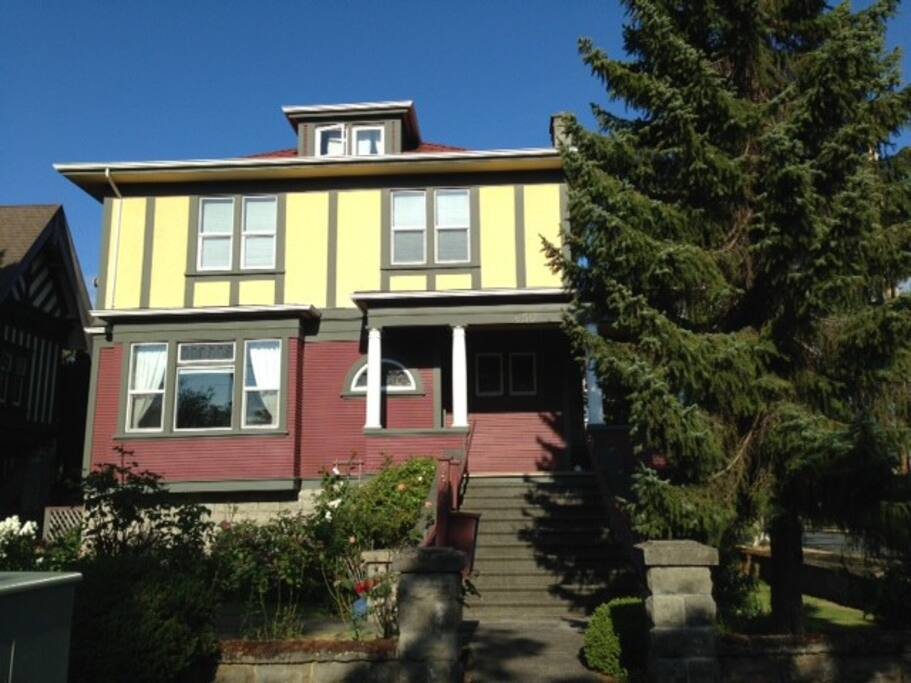 Character home renovated into 5 independant suites