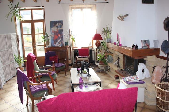 Chambre des Sens - Dolomieu - Casa