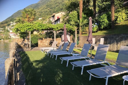 LAGO MAGGIORE - private access to the lake -