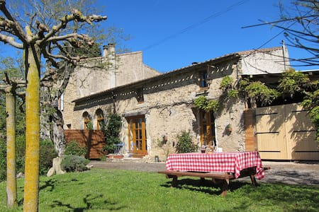 Romantic Cottage near Carcassonne - Raissac-sur-Lampy - Rumah