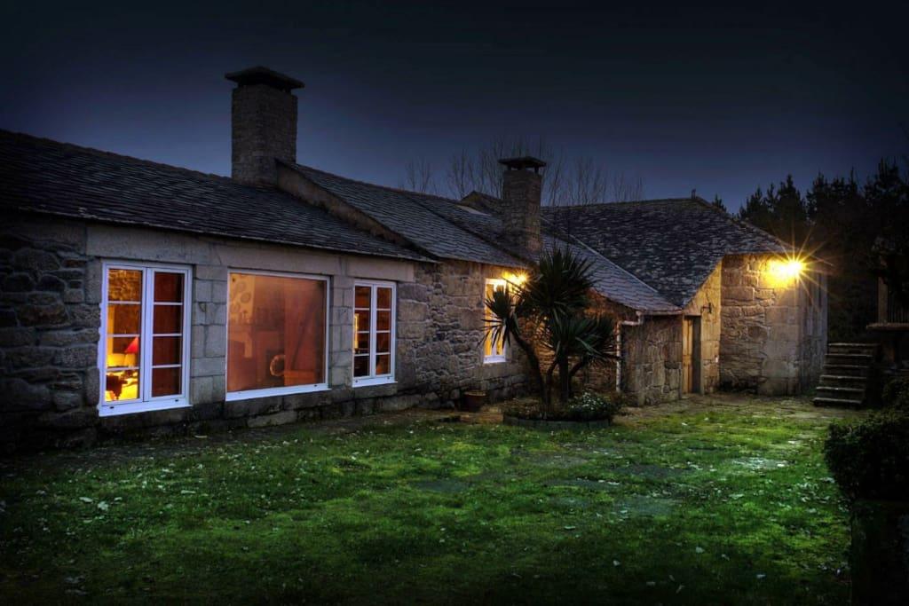 Casa con encanto y finca de 16000m2 casas en alquiler en - Casas rurales en galicia con encanto ...
