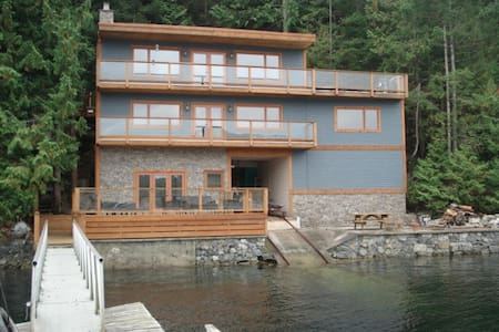 4BD West Coast Oceanfront Retreat - Madeira Park - Casa