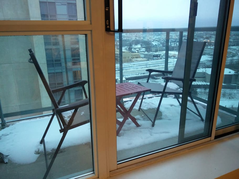 Balcon + View