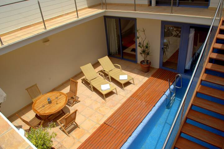 Villa Rosa, beach luxury, sea views, private pool