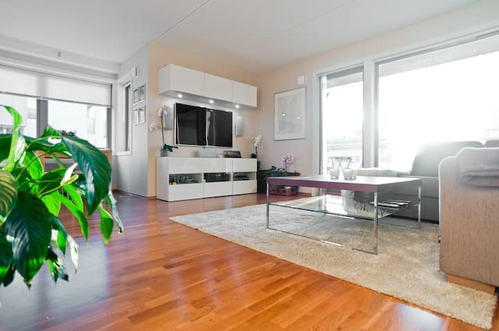 New spacious central 2BR w/terrace