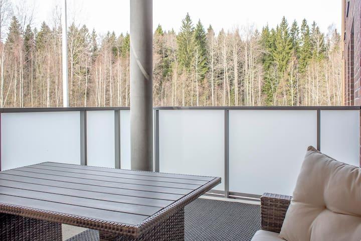 Modern apartment close to nature !