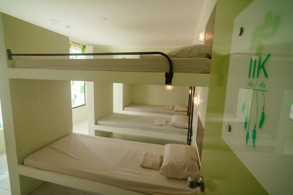 Classic mix dormitories 8 pax