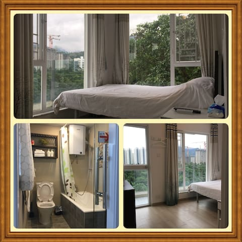 Double terrace room at the airport, Tung Chung and 360 scene - 東涌