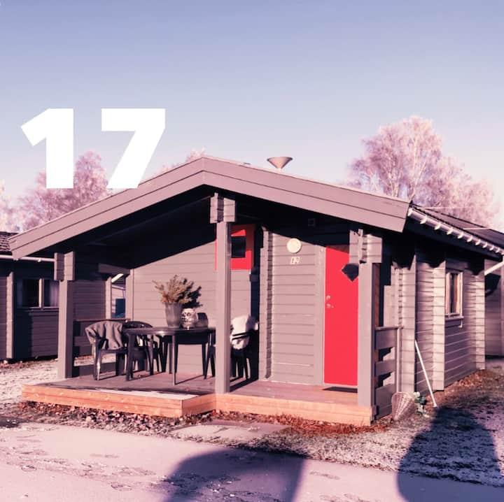 Stuga 17, Prångens Camping i Ulricehamn