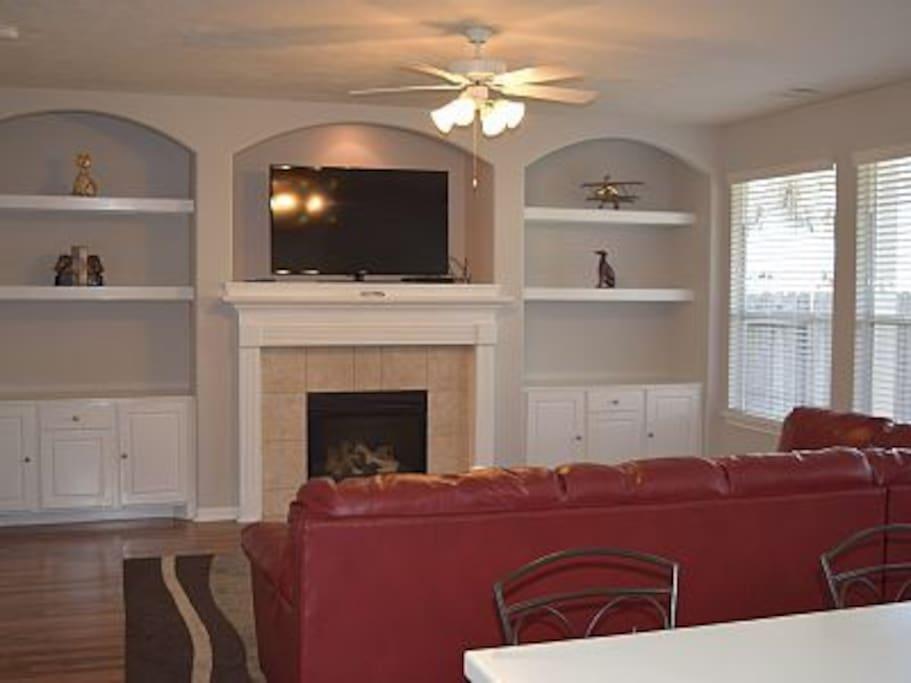 Nice spacious living area