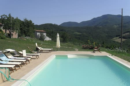 CHARMING  HOUSE ON  TUSCANY BORDER - Lizzano in Belvedere - Talo