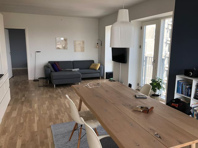 Spacious, brand new apartment close to Vesterbro
