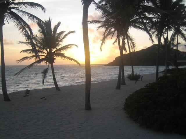 Private Villa on a white sand beach