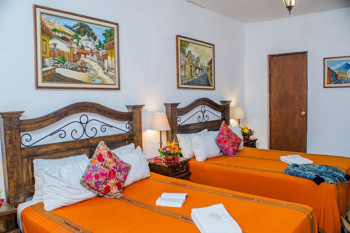 Antigua Guatemala Double Room Near Central Park