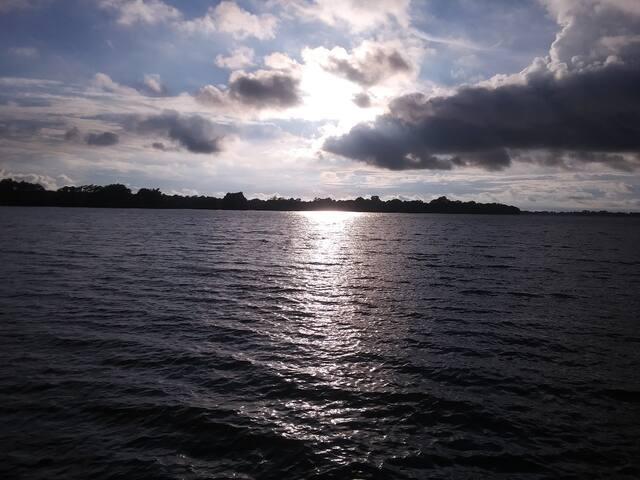 Relaxing King @ Horseshoe Lake 30mins from Memphis