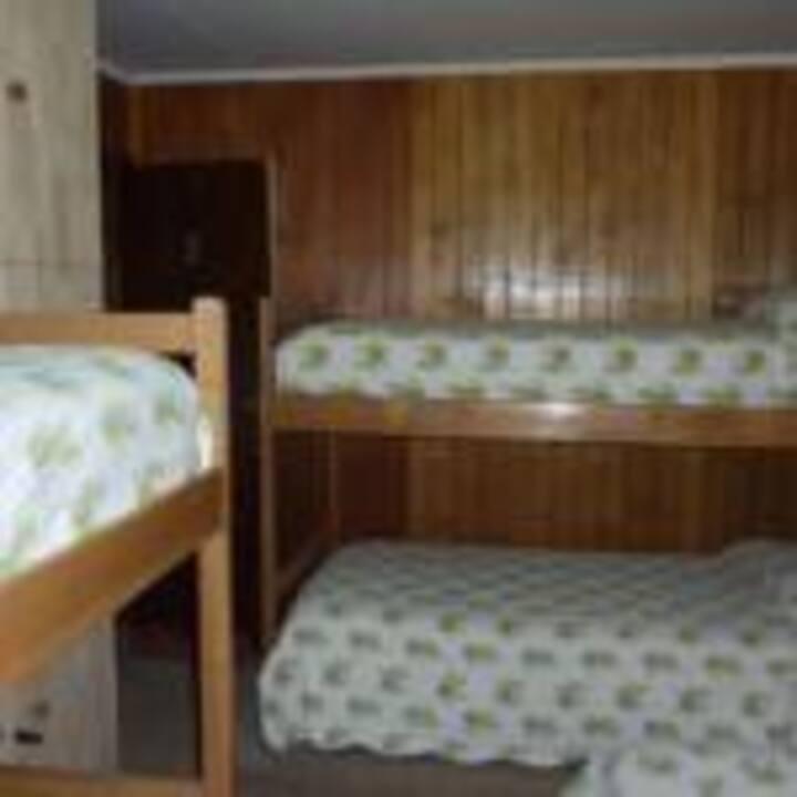 Habitación #3, Mixta Compartida  4 camas