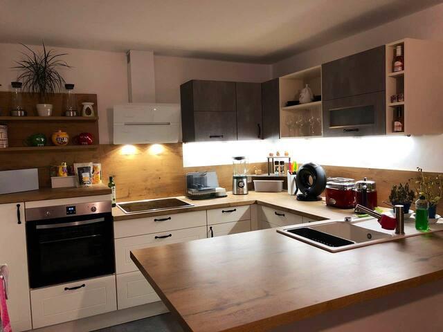 Moderne und stylistische Wohnung 110m