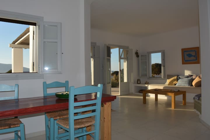 Serenity and lovely beaches through cedar forest - Naxos - Villa