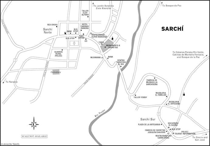 Sarchi La Cuna de Artesania de Costa Rica - San Pedro - Hus