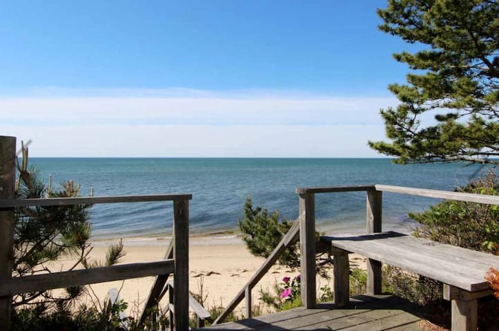 2 BR Carraige House with Private Beach