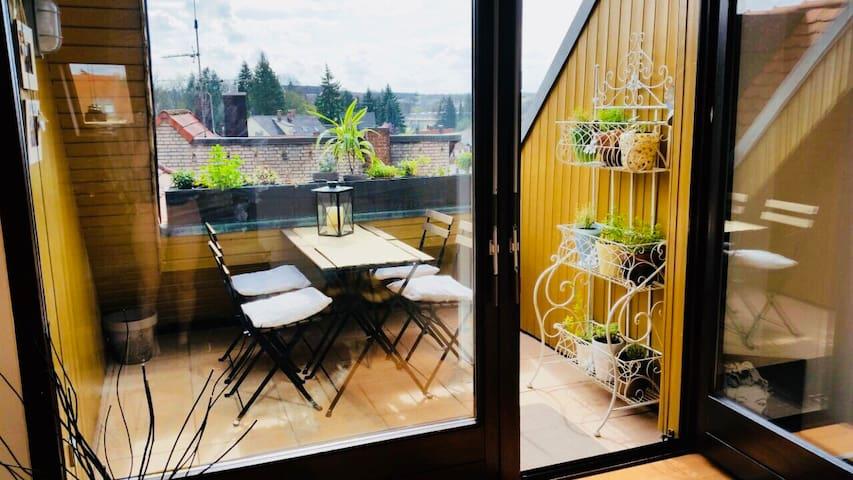 New! Modern maisonette studio near Nürnbergs CityC