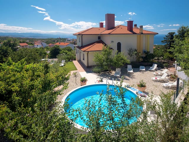 Holiday House Tamara for 15 persons in Opatija