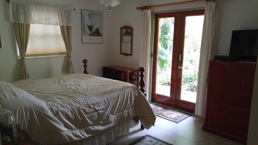 Cozy Jupiter cottage apartment - Jupiter - Daire