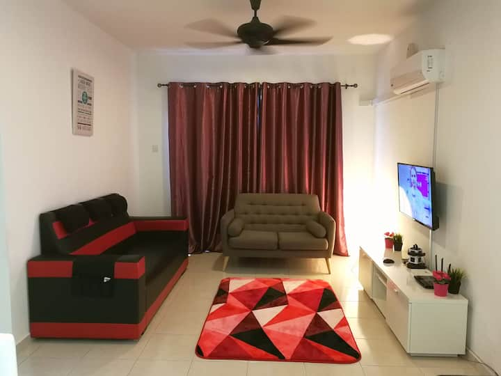Baraqah Home with 100mbps Wifi & Netflix