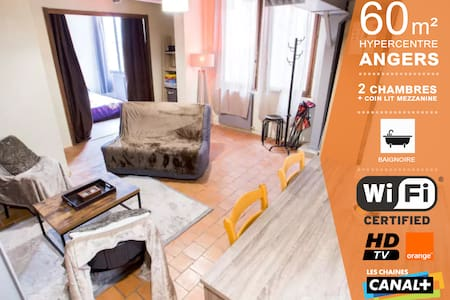 TANGO - Coeur d'Angers - 65 m² - Angers