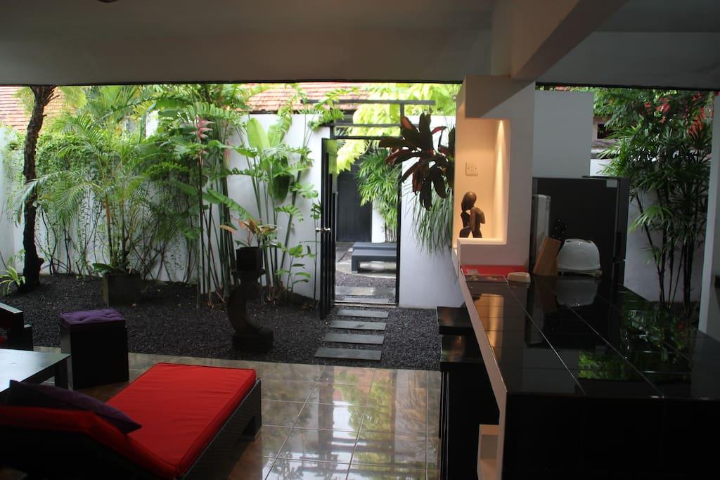 Superbe villa d 39 une chambre coucher seminyak no 3 for Chambre a coucher entiere
