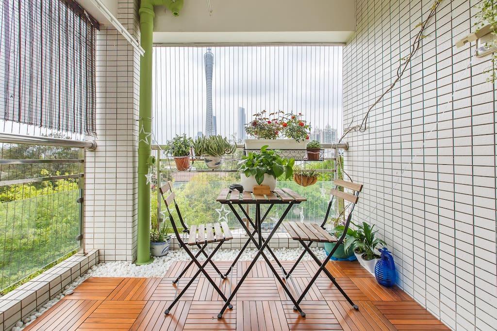 最漂亮的阳台有没有?