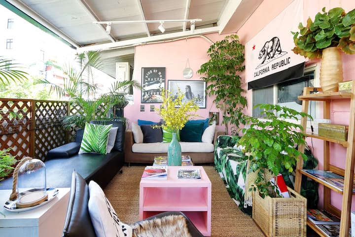 Stay Bohemian- The little 1Bedroom with Terrece