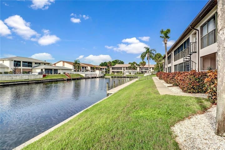 Tranquil, canal-front condo w/ great views & shared pool/dock!