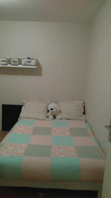 Chambre avec un lit pour 2
