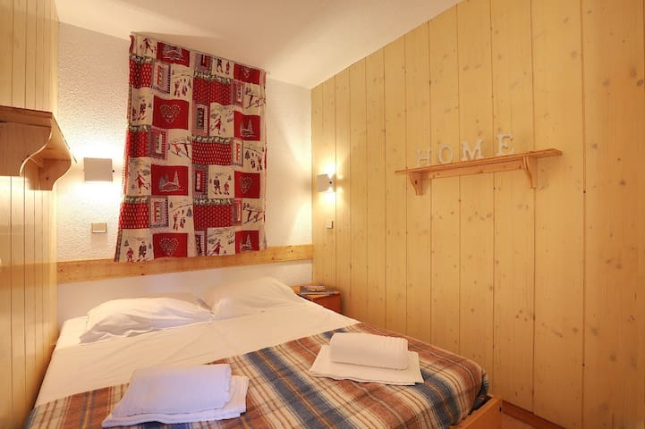 Courchevel 1550 - Apartment for 4 people ski in ski out