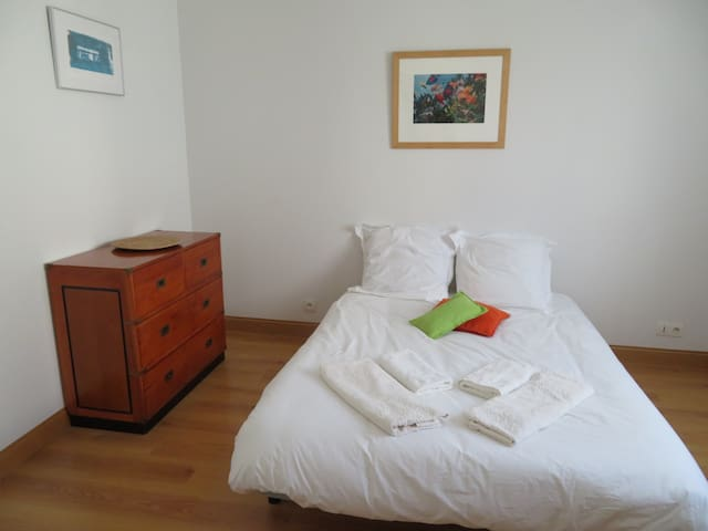 Chambre dans grande maison au coeur de La Rochelle