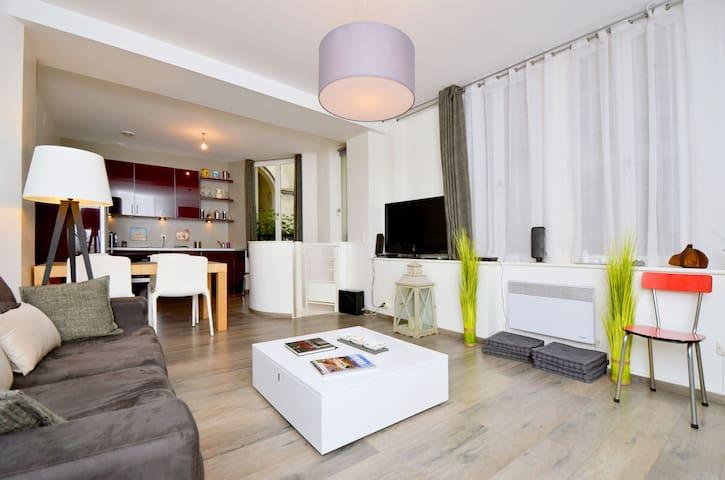 Paris whole cosy duplex 1-4 peoples - París - Apartamento
