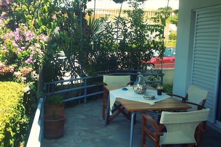 Family apartment by the sea! - Kalives Poligirou - Apartament