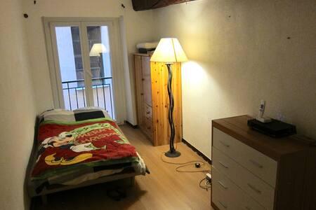 Appartement à partager chambre privée, vieux Nice - Nice