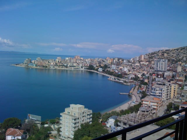 Apartment with sea view in Sarande