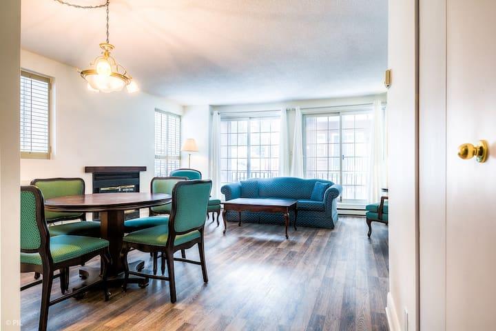 Studio au Hotel Manoir Saint-Sauveur - Saint-Sauveur - Appartement en résidence