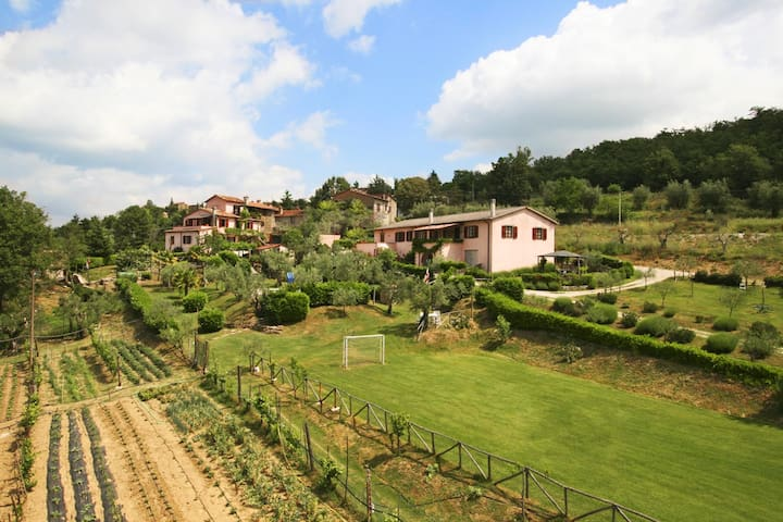 Room with swim and WiFi in Umbria - Lisciano Niccone - Other