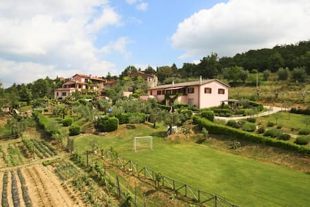 Room with swim and WiFi in Umbria - Lisciano Niccone