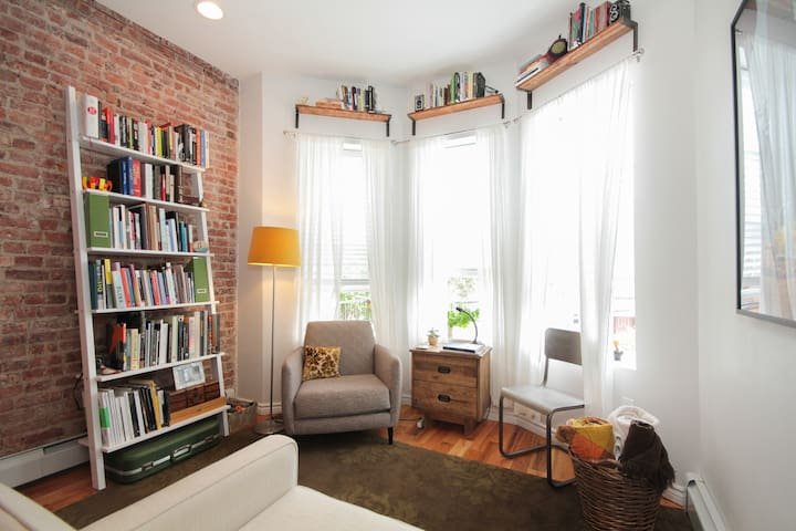 Sunny+Cozy Double bedroom in BKLYN! - Brooklyn - Appartement