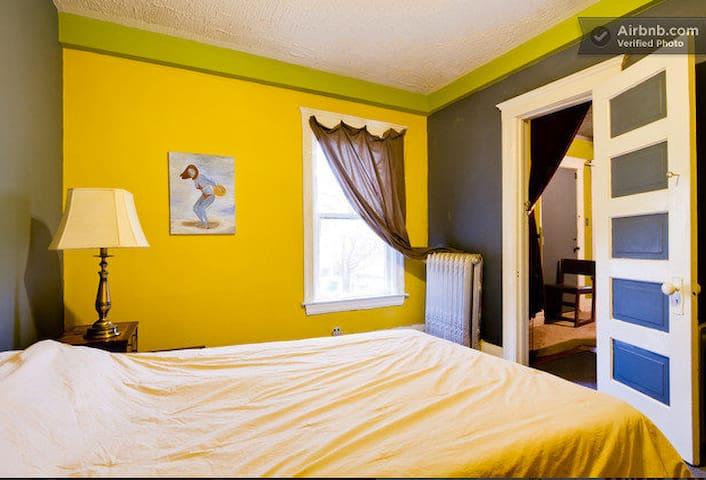2 Room Suite in Art Center Home