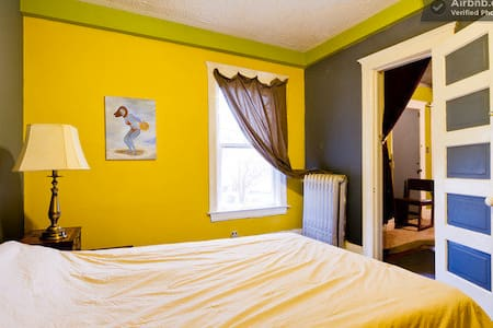 2 Room Suite in Art Center Home
