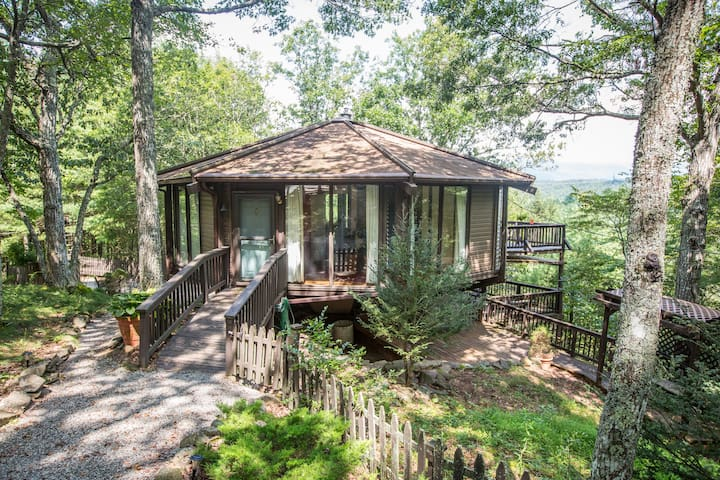 Mountain Octagon: nature-views-art! - West Augusta - Casa