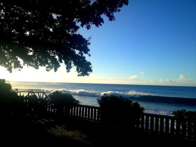 Maison bord de mer Tahiti - Arue - Hus